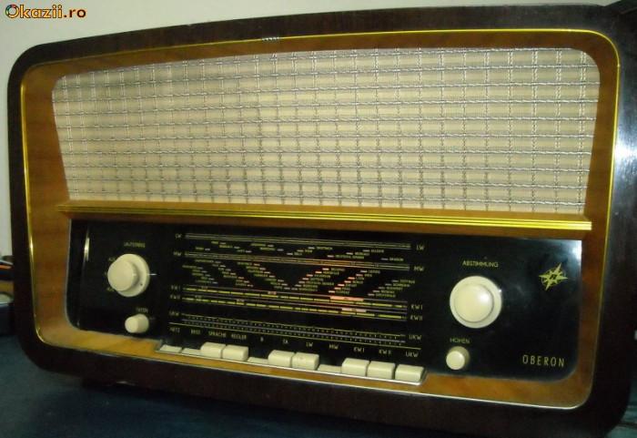 radio vintage anii 60 , pe lampi , tuburi foto mare