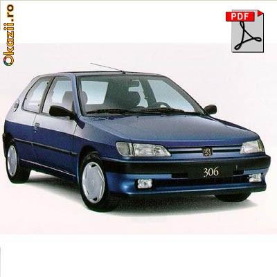 Manual reparatii Peugeot 306 1993 - 1995 foto mare