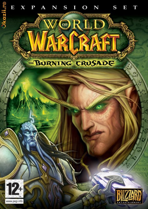 World of Warcraft + Burning Crusade (30 дней) .