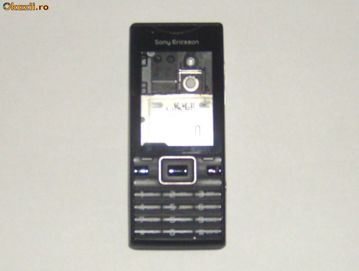 Carcasa (fata) originala Sony Ericsson J10I2 ELM foto mare