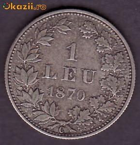 1 leu 1870! foto mare