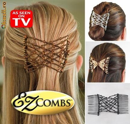 Заколки EZ Combs (Изи Коумс) - красивый и быстрый способ зафиксировать свои волосы.
