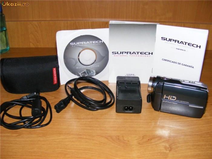 camera video HD Supratech 8m pix nu sony canon panasonic foto foto mare
