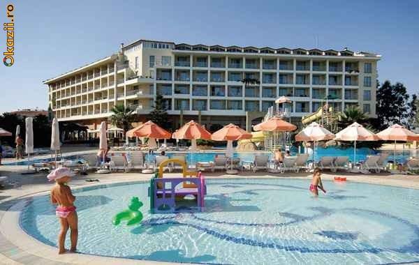 OFERTA SOC!!! ANTALYA -  HOTEL  5***** ULTRA ALL INCLUSIVE - 500 EURO - plecari septembrie/ TAXE INCLUSE foto mare