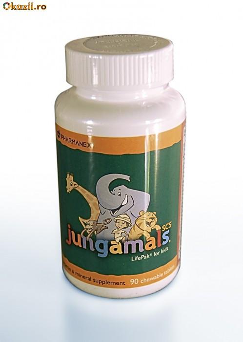 Jungamals pentru copii 120 tablete