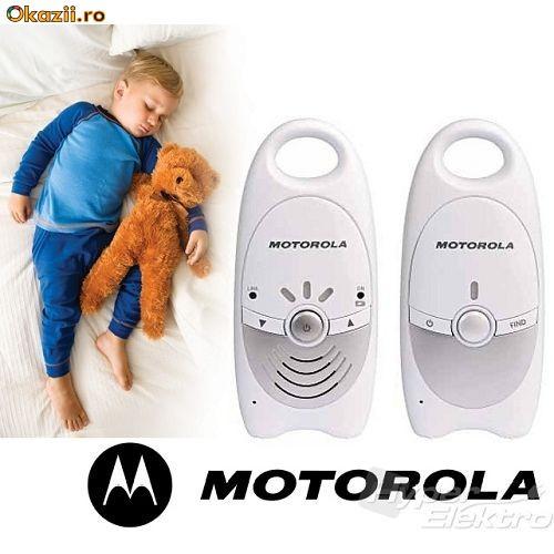 SISTEM SUPRAVEGHERE COPII - Interfon Digital Baby Monitor MOTOROLA MBP 10 - NOU ! foto mare