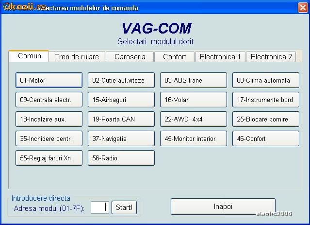 VAG COM VCDS11.11.4 in limba romana - Audi Wv Seat Skoda cu FT232BL  - ULTIMA VERSIUNE ! foto mare