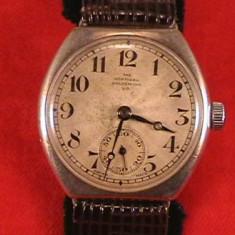ROLEX THE NORTHERN GOLDSMITS&CO DIN ARGINT ANII20 - Ceas barbatesc Rolex, Elegant, Mecanic-Automatic, Piele, Analog