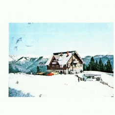CP149-60 Sinaia: Cota 1300 -Cabana Bradet -stampilata 1983 - Carte Postala Muntenia dupa 1918