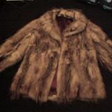 Palton dama - Blana vulpe naturala