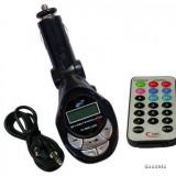 Modulator FM cu Display si Telecomanda (Mp3 la Radio-Casetofon) - Modulator FM auto