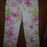 Pantaloni dama - Pantaloni inflorati Dolce Gabanna