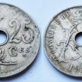 BELGIA 25 CENTIMES 1929 **, Europa, An: 1929