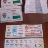 Abonament bilete /abonamente meci Steaua 1998 1999, 2001 2002