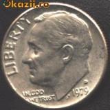 SUA Dime (10 Cents) 1979 D