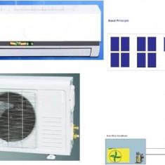 Aer Conditionat Split, 12000 BTU, A++ - Aer conditionat 100% Solar. 12000BTU. Nou. 100% Solar Air Conditioner 12000 BTU. -15 +55'C. Also work 4h without sun. New