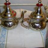 Metal/Fonta, Vase - Ceainice alama argintata reducere