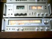 Sistem aduio exclusivist ROTEL amplituner receiver / casetofon deck foto