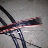 Vand cablu curent FY 2.5 mm negru si rosu, cupru plin