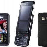 Telefon LG, Negru, Neblocat, Cu slide, Micro SD, 2G & 3G - Lg kf 600