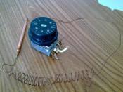 Termostat cu Capilar din cupru, lungime 1 metru, 0-90 grade Celsius, marca Arthermo foto
