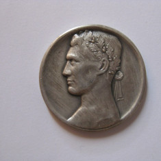REDUCERE 40 LEI! MEDALIA GERMANA ARGINTATA DIN 1924