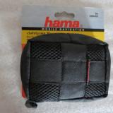 1122plu Husa gps husa aparat foto Navi Bag Hama Safetycase 30 neagra cu snur de umar dimensiuni interioare 11x8.5cm universal