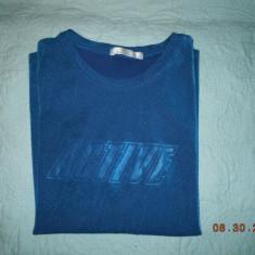 Tricou dama Mark & Spencer MARKS&SPENCER, Culoare: Albastru, Albastru, Imprimeu text, Maneca scurta, Casual