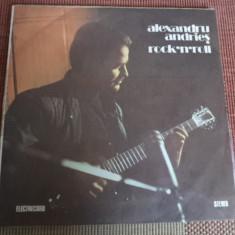 Alexandru Andries Rock n roll vinyl - Muzica Rock electrecord