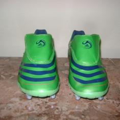 Ghete fotbal Adidas, 43 1/3, Verde, Barbati - Ghete de fotbal