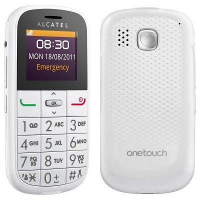 Alcatel One Touch OT-282, Telefon pentru batrani, taste mari, nou, foto
