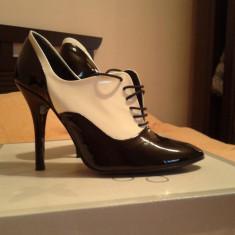 Pantofi - Ghete ZARA - Ghete dama Zara, Marime: 37, Culoare: Negru, Negru