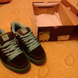Airwalk Ebel Shoe Junior Black/Lime 3 - Adidasi copii, Marime: 39, Culoare: Negru, Unisex, Negru