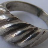 Inel vechi din argint (83) - de colectie