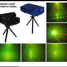 NOU 2014! SUPER LASER DISCO 3D PLANET STAR ROSU+VERDE.EFECTE 3D, LASERE DISCO! - Laser lumini club