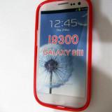 Vand husa silicon TPU Samsung Galaxy S3 culoare rosie(calitate foarte buna)