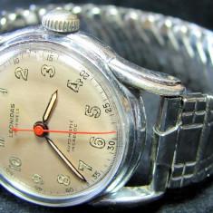 * Superb ceas Leonidas automatic anii '40 - original - FELSA 415 - Ceas barbatesc Tag Heuer, Mecanic-Automatic, Inox, Analog, 1940 - 1969