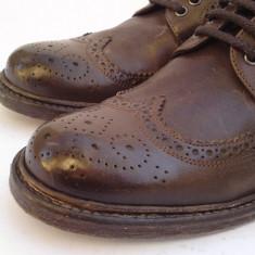 Pantofi BRUMAS Made in Italy 42 - Pantofi barbati, Culoare: Din imagine, Piele naturala