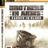 Jocuri Xbox Ubisoft, Actiune, 16+, Single player - JOC XBOX clasic BROTHERS IN ARMS EARNED IN BLOOD ORIGINAL PAL / STOC REAL / by DARK WADDER