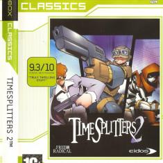 Jocuri Xbox Eidos, Actiune, 16+, Single player - JOC XBOX clasic TIMESPLITTERS 2 CLASSICS ORIGINAL PAL / STOC REAL / DARK WADDER