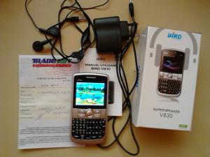telefon BIRD V830 dual sim foto