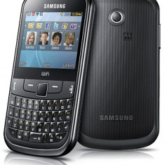 Vand Samsung S3350 - Telefon Samsung, Negru, <1GB, Neblocat, Single SIM, Single core