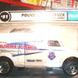 MATCHBOX-POLICE ROBOT TRUCK .++2100 DE LICITATII !! - Macheta auto Matchbox, 1:76