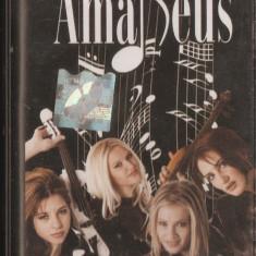 Trupa AMADEUS - caseta audio originala - CONTINENTAL (2002) - Muzica Dance mediapro music, Casete audio