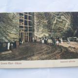 CP-OCNELE MARI-VALCEA-INTERIORUL SALINELOR-INTERBELICA - Carti Postale Romania dupa 1918, Circulata