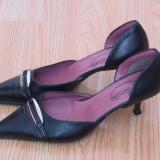 "Pantofi dama - Pantofi de dama ""smile"", piele naturala, marime 36, pret 49 ron"