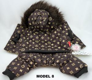 Haine / Imbracaminte catel / caine firma Louis Vuitton, model 2013 DEOSEBIT, ideal cadou foto