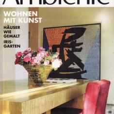 AMBIENTE - REVISTA DE ARHITECTURA SI DESIGN IN LIMBA GERMANA NR. 3/1996 - Revista casa