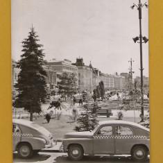 Carti Postale Romania dupa 1918, Circulata - TARGU MURES TAXIURI 1963