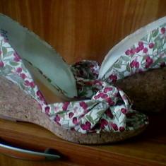 Sandale H&M - Sandale dama H&m, Marime: 39, Culoare: Alb, Alb